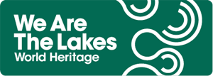 Logo: We are the Lakes World Heritage