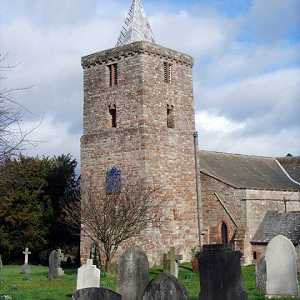 Morland church with Saxon tower